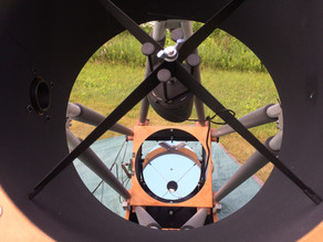 Big Scope Added at AstroCamp