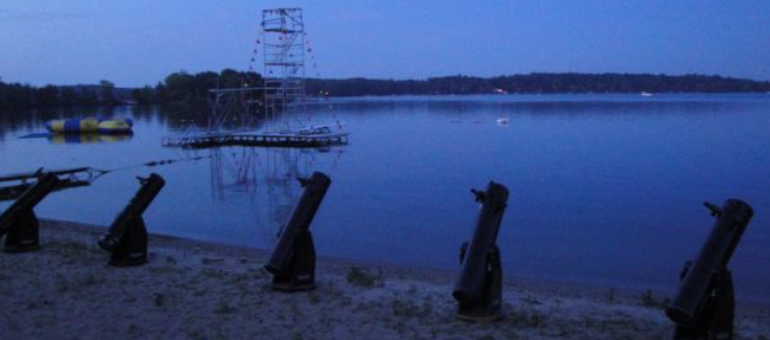 Telescopes await AstroCampers at YMCA Camp Eberhart