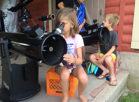 6 Guest Astronomers,  Week of AstroCamp