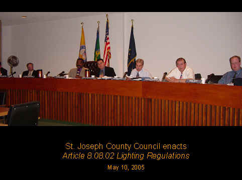 SJC County Enacts Lighting Ordinance