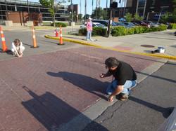 Chalking the Crosswalk