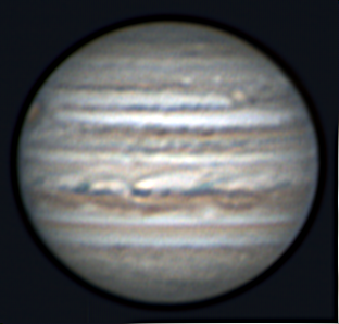 Image of Jupiter on 6 May 2018, courtesy of AstroCamp counselor Lee Keith