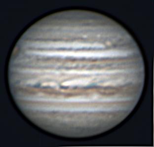 Imaging Jupiter at AstroCamp 2018