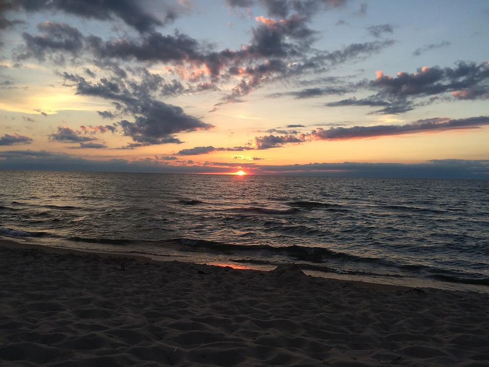 Sunset.  Indiana proposes eliminating net-metering.