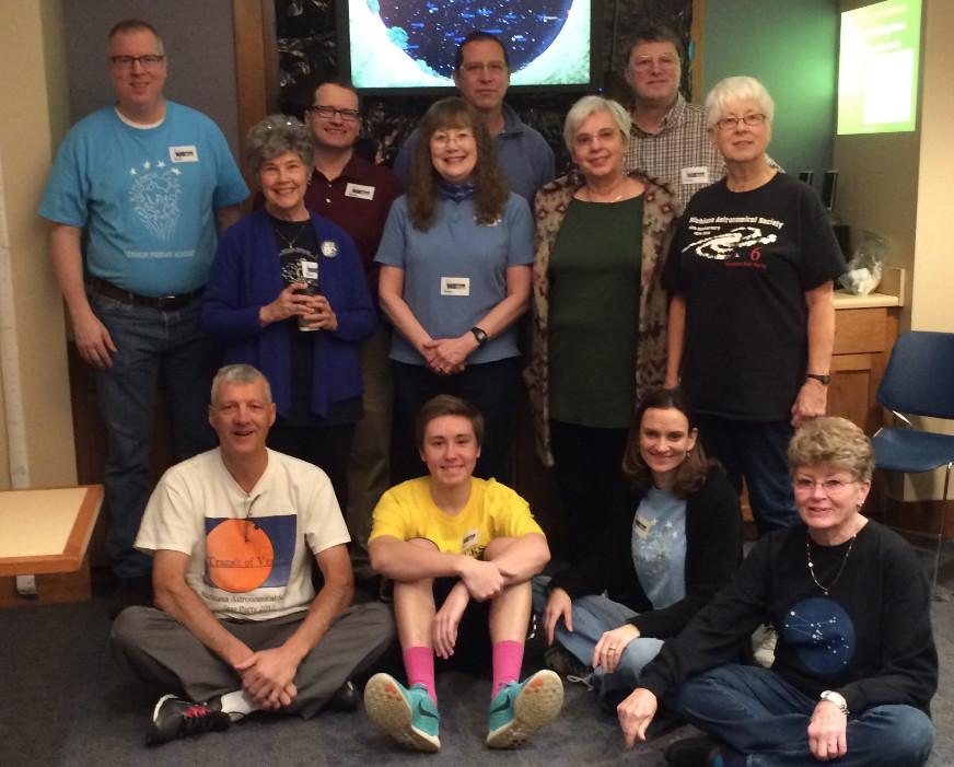 Michiana astro team at 2016 Science Alive