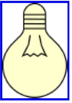 Light bulb from Energy Chain.