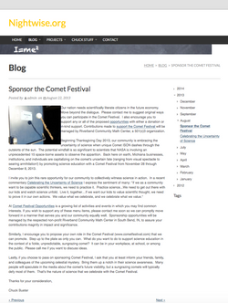 Nightwise.org : Sponsor the Comet Festival.png