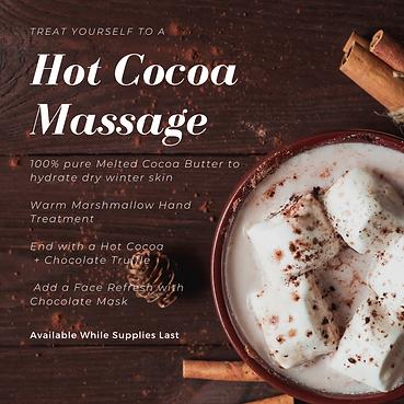 Brown Hot Cocoa Christmas Event Invitati