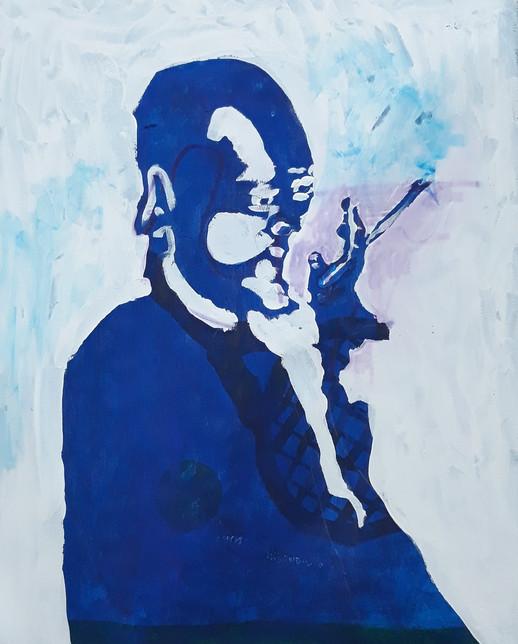 Blue Smoker