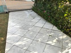 Falha estrutural de piso