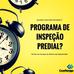 Quando deve ser iniciado o programa de Inspeção Predial?  📆