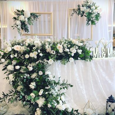flower design main table