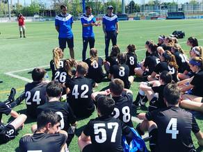 Galway Rovers FC is in Spain