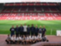 Cobb FC at Old Trafford.jpg