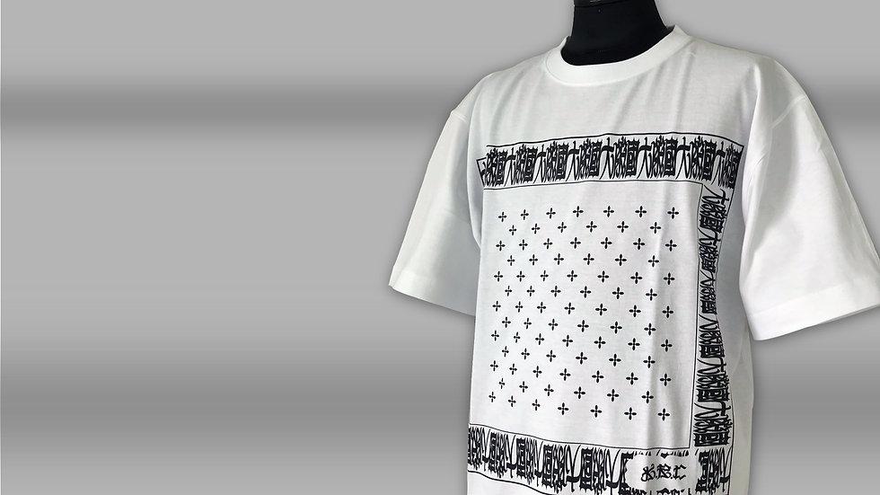 KRC 大阪國バンダナ柄 Tシャツ