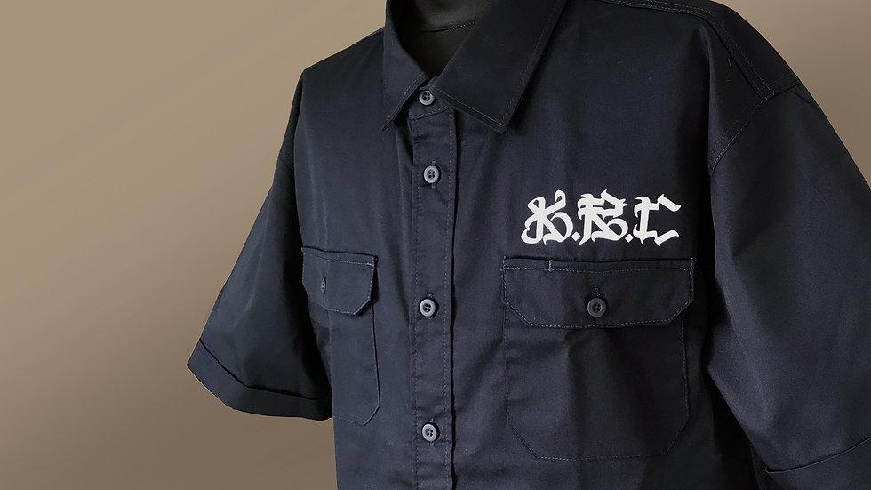 KRC 大阪國バンダナ柄ワークシャツ