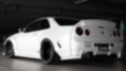 NISSAN GT-R34 tail spoiler