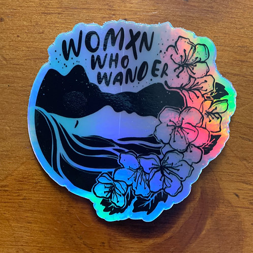 Holographic Sticker