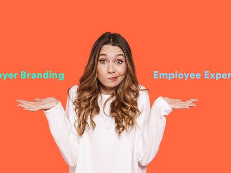 Employer Branding x Employee Experience. Você sabe a diferença?