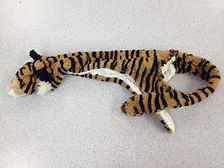 A stuffed toy that was removed surgically from dog's intestine