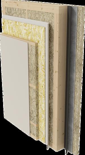 состав стены карксного дома
