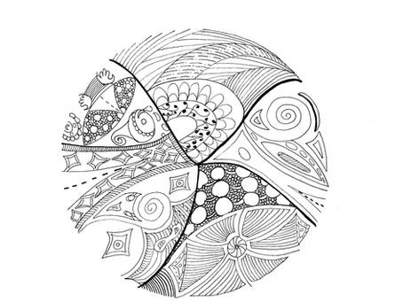 Création de mandalas intuitifs Samedi 14 mars 2020 9h30 à 11h30 Thorens-Glières