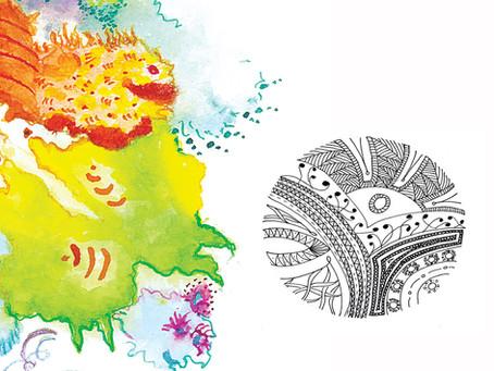 Ateliers Découvertes: Peintures et mandalas intuitifs, mercredi 15 et jeudi 16 janvier 2020