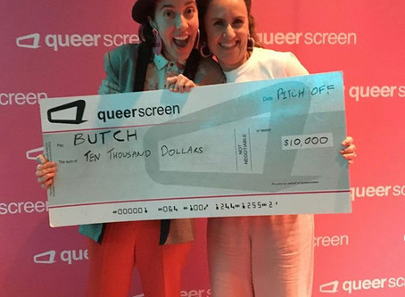 Butch wins Queerscreen's 'Pitch Off'