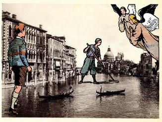 Philippe Lagautrière, l'art déjanté du tampon