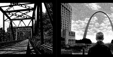 Thomas Ott, de noirs dessins