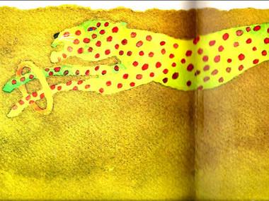 Yutaka Sugita, poésie colorée
