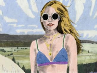 Marie Jacotey, la couleur mouvementée