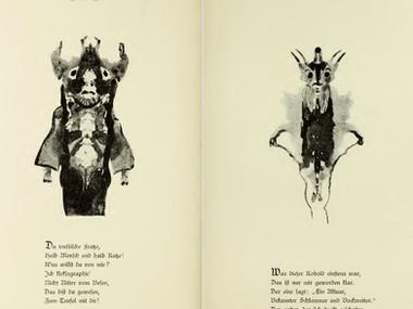 La klecksographie, l'art des taches