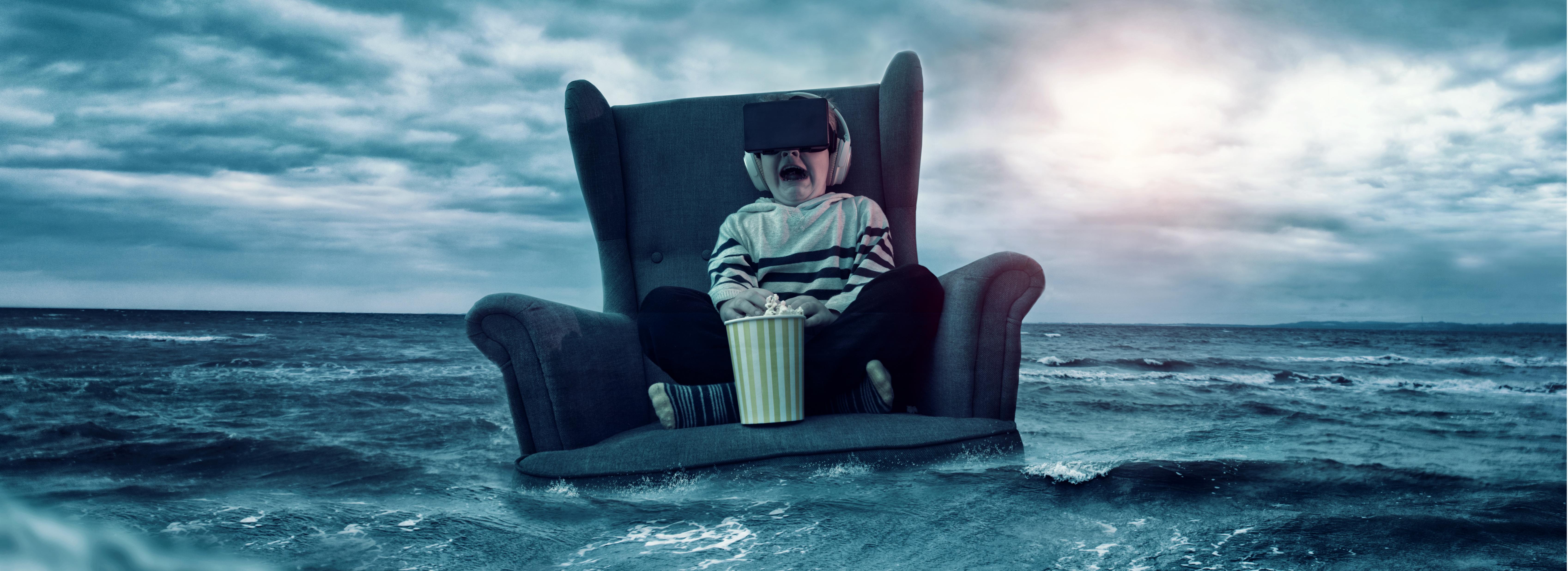 Streaming VR virtual reality