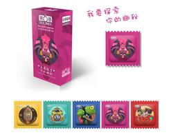 Six Sex Packaging Design-Purple