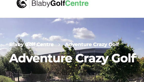 Soundtrack made for Blaby Golf Centre