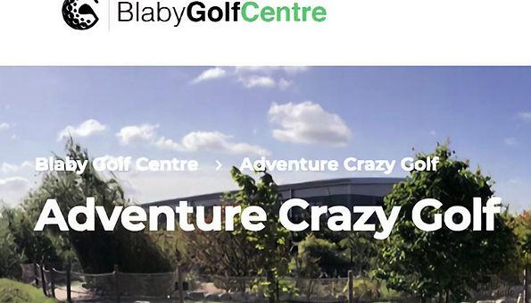 Soundtrack made for Blaby Golf Centre