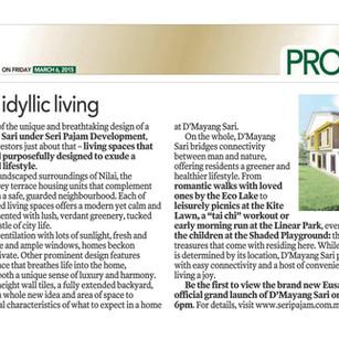 Articulating idyllic living - D'mayang Sari
