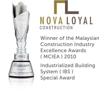 Winner of the Malaysian Construction Industry Excellence Awards (MCIEA)