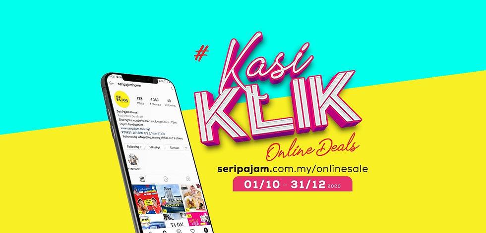 Kasi Klik - online sale SPD website cove