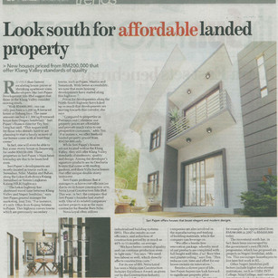 Look south for affordable landed property