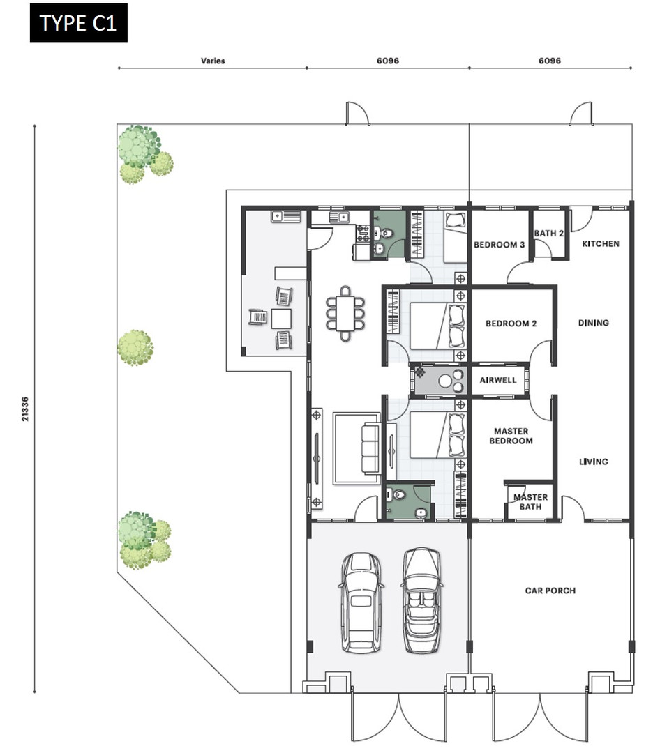 Nada Seruni Floor Plan Type C1