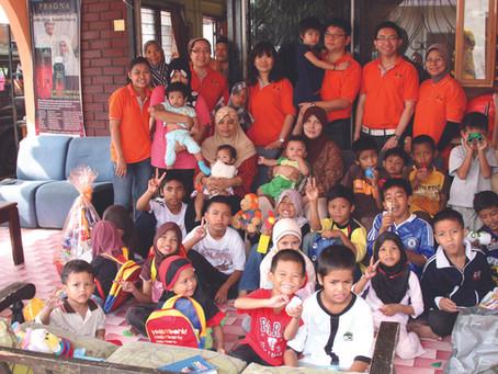 2011 A Visit to Orphanage Home - Rumah Nur Hikmah