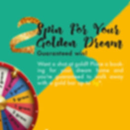 Spin for your golden dream