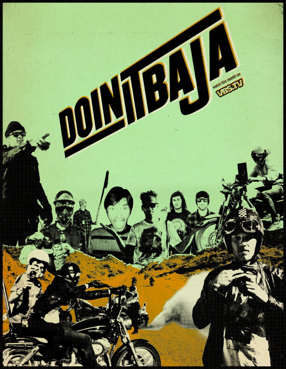 doin it baja event poster