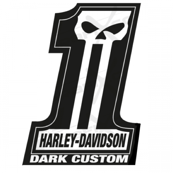 dark custom logo