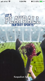 PlayBall Fantasy Sports App- Fans Cheering for their favourate Team