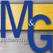 M and g automotive logo
