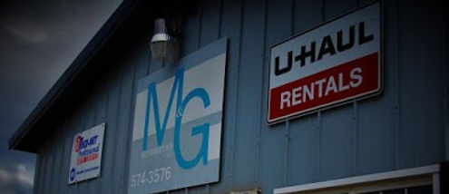 m and g automotive signs