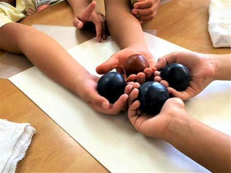 「ひかるどろだんご」づくり体験講座 3